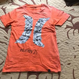 ハーレー(Hurley)の120㎝  訳ありオレンジTシャツ(Tシャツ/カットソー)