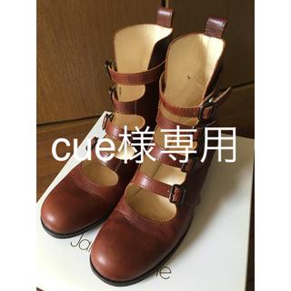 ジェーンマープル(JaneMarple)のジェーンマープル 4連ストラップシューズ Lサイズ(ローファー/革靴)