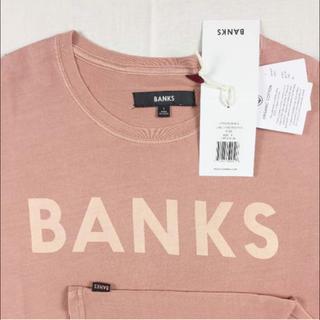 ロンハーマン(Ron Herman)の正規品 BNT1 新品 送込 XS ピンク② バンクス Classic Tシャツ(Tシャツ/カットソー(半袖/袖なし))