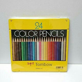 トンボエンピツ(トンボ鉛筆)のトンボ色鉛筆(24色)・ 三菱色鉛筆880(24色) (その他)