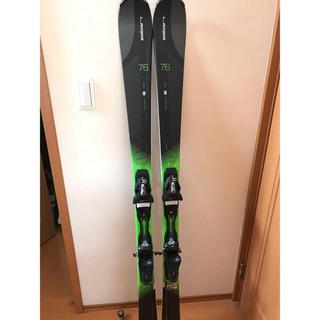 エラン(Elan)のエラン アンフィビオ76 スキー板  160センチ  新品です。(板)