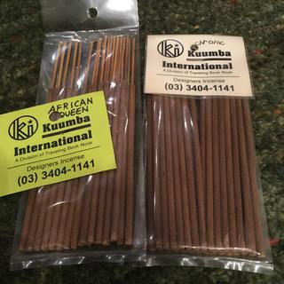 クンバ(KUUMBA)のKuumba INTERNATIONAL アロマ お香 2種セット まとめ売り(お香/香炉)