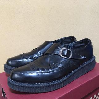 ティーユーケーシューズ(T.U.K. SHOES)の【T.U.K】 ラバーソール クリーパー 厚底革靴(ドレス/ビジネス)