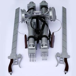 進撃の巨人 立体機動装置 コスプレ道具 武器(小道具)