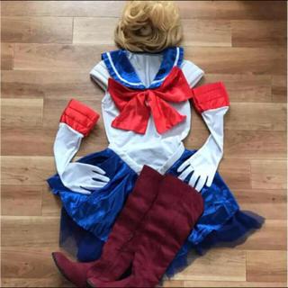 セーラームーン(セーラームーン)のセーラームーン コスプレ フルセット ブーツなし(衣装一式)
