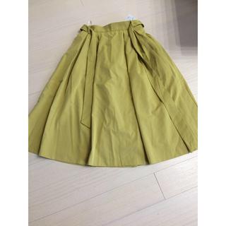 ハニーズ(HONEYS)の新品未使用ハニーズ イエロー黄色 フレアスカート(その他)