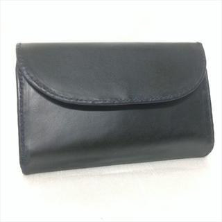 ホワイトハウスコックス(WHITEHOUSE COX)のホワイトハウスコックス 3つ折り財布 S7660 ダークネイビー(折り財布)