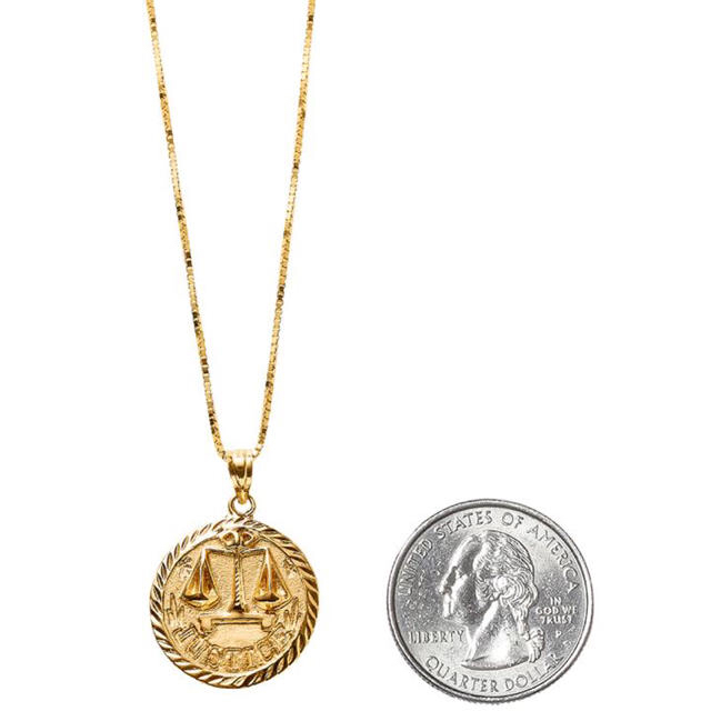 Supreme 2018ss supreme justice gold pendant by 2018ss supreme justice gold pendant mozeypictures Images