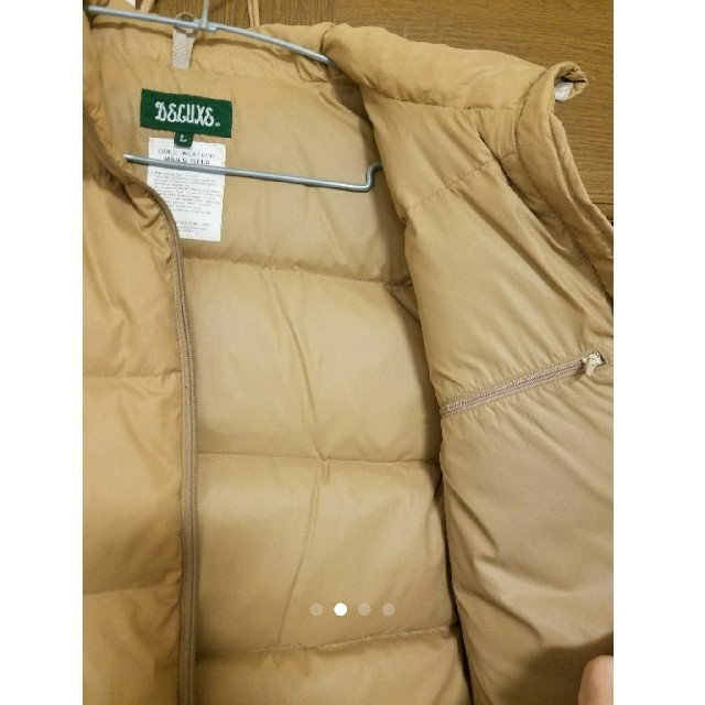 DELUXE(デラックス)のDeluxe デラックス ダウンベスト メンズのジャケット/アウター(ダウンベスト)の商品写真