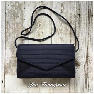 8d844710da5 Jim Thompson - Jim Thompson☆高級シルクショルダーバッグ ネイビーの通販 by VERDE closet|ジムトンプソン  ...