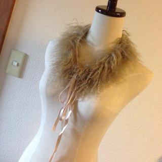 ファーファー(fur fur)のフィリオリンクス ラムファーティペット(つけ襟)