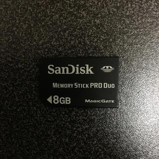 PSP メモリースティック 8GB