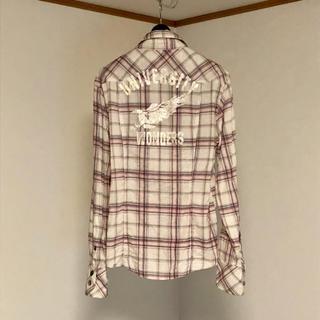 サージェントサルート 淡色 チェックシャツ ウエスタン