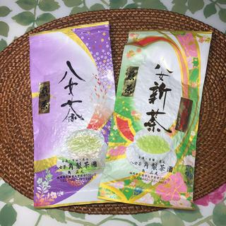 まろやか高級八女茶 おまけ付き 計200グラム(茶)
