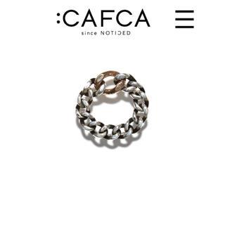 アッシュペーフランス(H.P.FRANCE)の:CAFCA のチェーンリング(シャンパンゴールド)(リング(指輪))