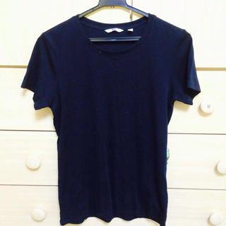 ユニクロ ブラックTシャツ(Tシャツ(半袖/袖なし))