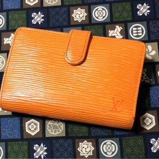 ルイヴィトン(LOUIS VUITTON)のルイヴィトン 財布  折り財布 オレンジ色(財布)