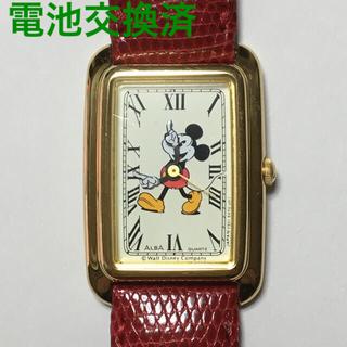 アルバ(ALBA)のアルバ ミッキーマウス 腕時計 電池交換済(腕時計)