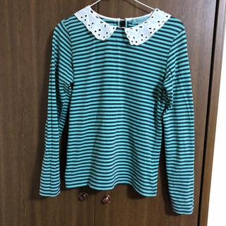 リンジィ(Lindsay)の襟つき Tシャツ Lindsay(Tシャツ/カットソー)
