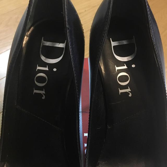 Dior(ディオール)の♡Dior パンプス 大人可愛いリボンデザイン☆ レディースの靴/シューズ(ハイヒール/パンプス)の商品写真