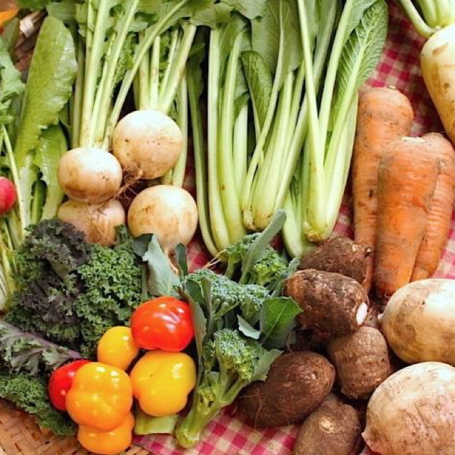 成田産 お野菜詰め合わせ10品80サイズ(栽培期間中無農薬、無化学肥料) 食品/飲料/酒の食品(野菜)の商品写真