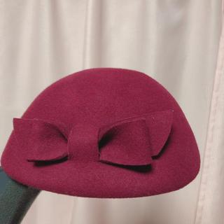 アンアナザーアンジェラス(an another angelus)のアンアナザーアンジェラス ハット ベレー帽(ハンチング/ベレー帽)