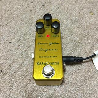 ONECONTROL   lemon  yellow  compressor(エフェクター)
