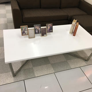 フランフラン(Francfranc)のテーブル ホワイト(ローテーブル)