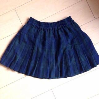 ローリーズファーム(LOWRYS FARM)のチェックプリーツスカート(ミニスカート)