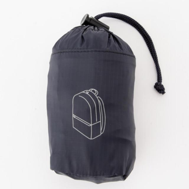 MUJI (無印良品)(ムジルシリョウヒン)の 新品 無印良品 パラグライダークロス たためるリュックサック   レディースのバッグ(リュック/バックパック)の商品写真