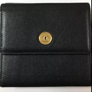 シャネル(CHANEL)のCHANEL ココボタン 折財布(財布)