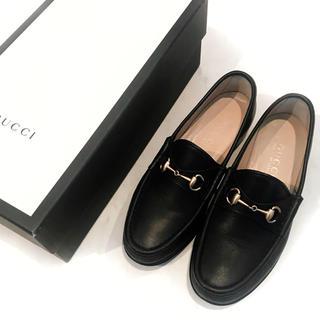 グッチ(Gucci)のグッチ  ホースビットローファー(ローファー/革靴)