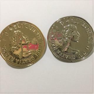 SALEコイン型コンチョL7個セット(各種パーツ)