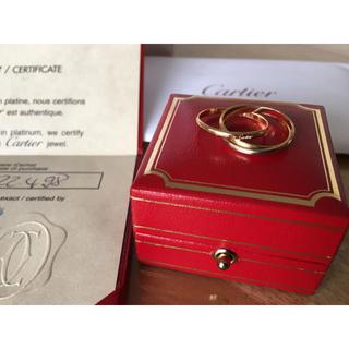 カルティエ(Cartier)の【超美品】正規品カルティエ Cartier トリニティリング 3連(リング(指輪))