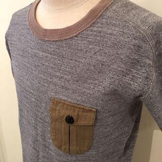 ビームス(BEAMS)のポケットリブTシャツ メンズ size M(その他)