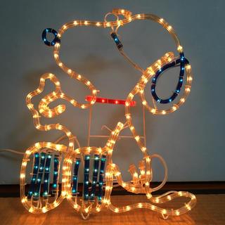 スヌーピー(SNOOPY)のスヌーピー イルミネーションライト 展示品 ビンテージ ジャンク(その他)