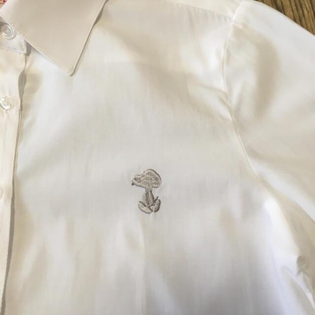 しまむら(シマムラ)のスクールシャツ 白シャツ 女の子 140 キッズ/ベビー/マタニティのキッズ服 女の子用(90cm~)(ブラウス)の商品写真