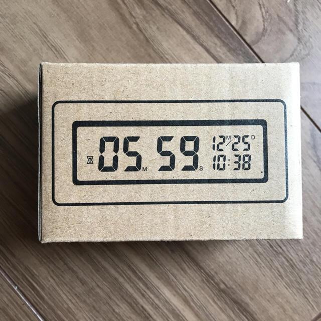 無印 MUJI バスクロック 防水 時計