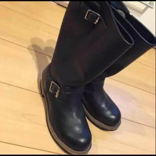 ゲッタグリップ(GETTA GRIP)の美品 getta grip UK4 ゲッタグリップ   ハーレー 乗りに 美品(ブーツ)
