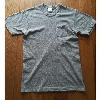 バーンズアウトフィッターズ(Barns OUTFITTERS)のバーンズ 吊り編み tシャツ 杢グレー(Tシャツ/カットソー(半袖/袖なし))