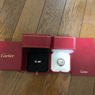 カルティエ ラニエール リング 指輪 K18WG 63 23号 ホワイトゴールド(リング(指輪))