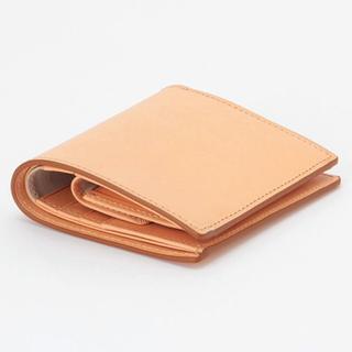 ムジルシリョウヒン(MUJI (無印良品))の【新品】MUJI イタリア産ヌメ革 ウォレット(財布)