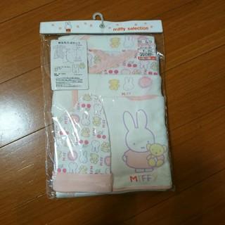 シマムラ(しまむら)のミッフィー新生児5点セット(肌着/下着)