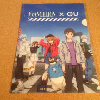 ジーユー(GU)のgu×エヴァンゲリオン クリアファイル(クリアファイル)