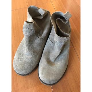ザラ(ZARA)のキッズ★ZARAザラ★18.3cmレザーブーツ美品(ブーツ)