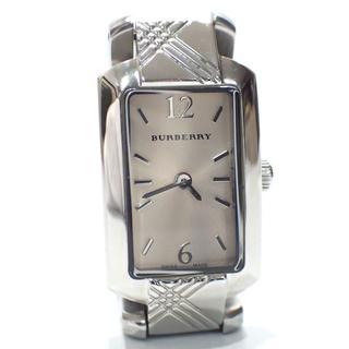 バーバリー(BURBERRY)のA497 バーバリー ignature シグネチャー 時計 BU4212(腕時計)