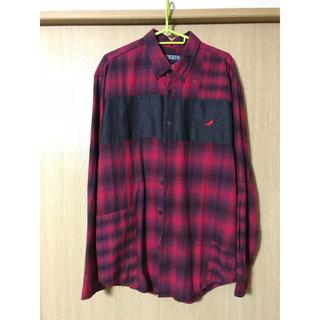 ステイプル(staple)のstaple チェックシャツ(シャツ)