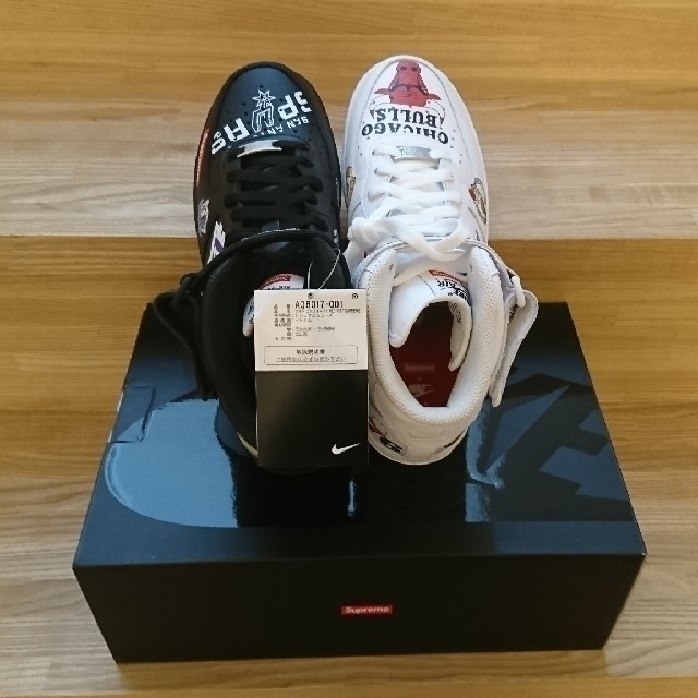 Supreme(シュプリーム)の希少◯ Supreme Nike  US8 黒タグ◯馬鹿履き メンズの靴/シューズ(スニーカー)の商品写真