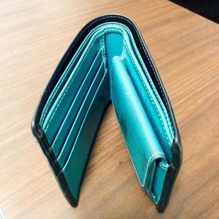 エッティンガー(ETTINGER)の【ごっくん様専用】エッティンガー 二つ折り財布 ターコイズブルー(折り財布)