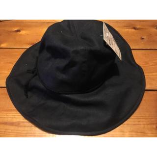 ムジルシリョウヒン(MUJI (無印良品))の新品未使用 無印良品 麻キャペリン帽子 ハット UV加工 MUJI 日除け(ハット)
